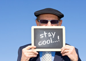 stay cool...! - Concept for Seniors