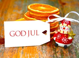God Jul - Postkarte